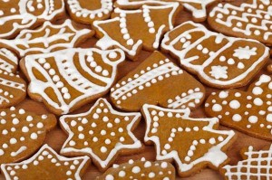 Christmas cookies - advent calendar
