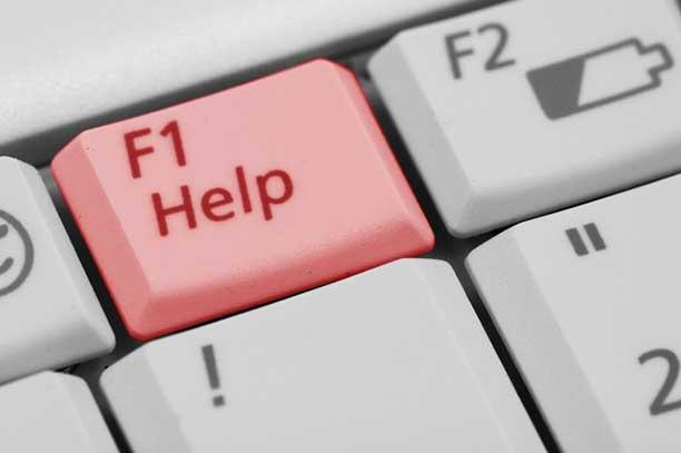 Help key - curbing Internet usage